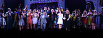 Jeff Richmond, Casey Nicholaw, Tina Fey and Neil Benjamin with cast during the Broadway Opening Night Performance Curtain Call of 'Mean Girls' at the August Wilson Theatre on April 8, 2018 in New York City.
