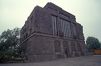 The Anahuacalli museum or House of Anahuac in Coyoacan, Mexico City. This museum was designed by Diego Rivera to house his collection of pre-Hispanic art.