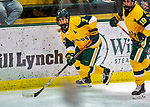 8 February 2020: University of Vermont Catamount Forward Kristina Shanahan, a Junior from Ste-Anne-de-Bellevue, Québec, in third period action against the University of Connecticut Huskies at Gutterson Fieldhouse in Burlington, Vermont. The Huskies defeated the Lady Cats 4-2 in the first game of their weekend Hockey East series. Mandatory Credit: Ed Wolfstein Photo *** RAW (NEF) Image File Available ***