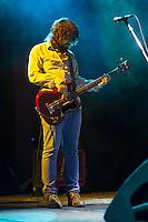 SÃO PAULO - 30/09/2014 - BOOGARINS - ESPAÇO DAS AMÉRICAS - A banda goiana de rock psicodélico, boogarins foi a responsável pelo show de aberta para o Franz Ferdinand que ocorreu nesta terça-feira no Espaço das Américas zona oesta da cidade de São Paulo/SP<br /> Foto: (Flavio Hopp/Brazil Photo Press)