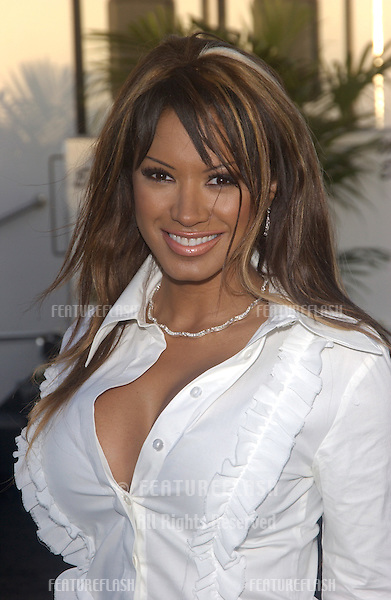 Actress TRACI BINGHAM at charity event at Santa Monica Airport for The Robb Report's Best of the Best: Los Angeles..August 28, 2004