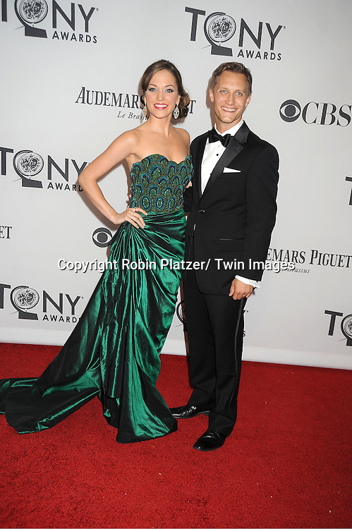 Laura Osnes attends th 66th Annual Tony Awards on June 10, 2012 at The Beacon Theatre in New York City.