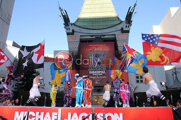 Atmosphere<br /> at Michael Jackson Immortalized at Grauman's Chinese Theatre, Hollywood, CA 01-26-12<br /> David Edwards/DailyCeleb.com 818-249-4998