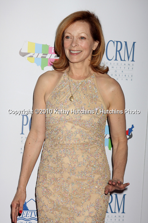 "Frances Fisher.arrives at ""The Art of Compasion PCRM 25th Anniversary Gala"".The Lot.Los Angeles, CA.April 10, 2010.©2010 Kathy Hutchins / Hutchins Photo..."