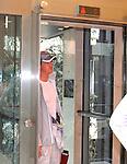Motorsport: DTM Vorstellung  2008 Duesseldorf<br /> <br /> Fuer Ralf Schumacher soll es wie hier am Aufzug , auch in der DTM nach oben gehen.  <br /> <br /> <br /> Foto &copy; nph (nordphoto)
