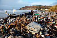 2016 02 09 Aftermath of storm Imogen,Pendine,Wales, UK