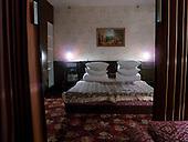 Uzhgorod, Ukraine.June 4, 2005 ..Intourist hotel room...