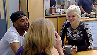 Ginuwine, Rachel Johnson, Ashley James<br /> Celebrity Big Brother 2018 - Day 8<br /> *Editorial Use Only*<br /> CAP/KFS<br /> Image supplied by Capital Pictures
