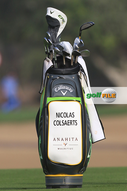 Nicolas Colsaerts (BEL) on the 3rd fairway during Round 2 of the Omega Dubai Desert Classic, Emirates Golf Club, Dubai,  United Arab Emirates. 25/01/2019<br /> Picture: Golffile   Thos Caffrey<br /> <br /> <br /> All photo usage must carry mandatory copyright credit (© Golffile   Thos Caffrey)