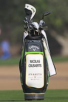 Nicolas Colsaerts (BEL) on the 3rd fairway during Round 2 of the Omega Dubai Desert Classic, Emirates Golf Club, Dubai,  United Arab Emirates. 25/01/2019<br /> Picture: Golffile | Thos Caffrey<br /> <br /> <br /> All photo usage must carry mandatory copyright credit (© Golffile | Thos Caffrey)