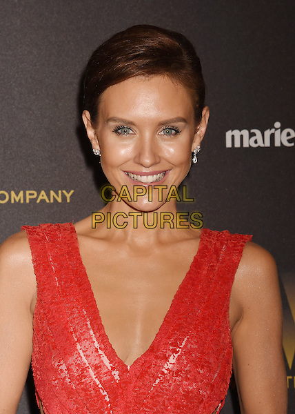 BEVERLY HILLS, CA - JANUARY 10: Actress Nicky Whelan attends The Weinstein Company and Netflix Golden Globe Party, presented with DeLeon Tequila, Laura Mercier, Lindt Chocolate, Marie Claire and Hearts On Fire at The Beverly Hilton Hotel on January 10, 2016 in Beverly Hills, California.<br /> CAP/ROT/TM<br /> &copy;TM/ROT/Capital Pictures