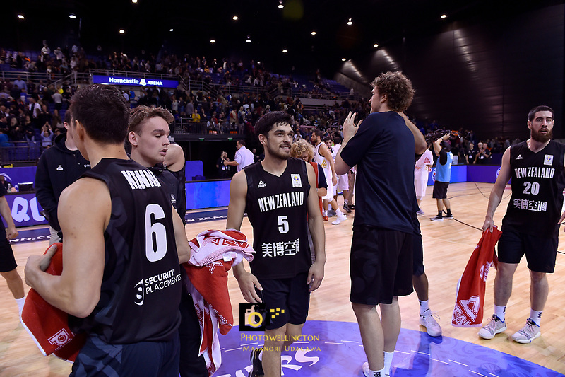 New Zealand Tall Blacks' Shea Ili, FIBA World Cup Basketball Qualifier - NZ Tall Blacks v Jordan at Horncastle Arena, Christchurch, New Zealand on Thursday 29 November  2018. <br /> Photo by Masanori Udagawa. <br /> www.photowellington.photoshelter.com