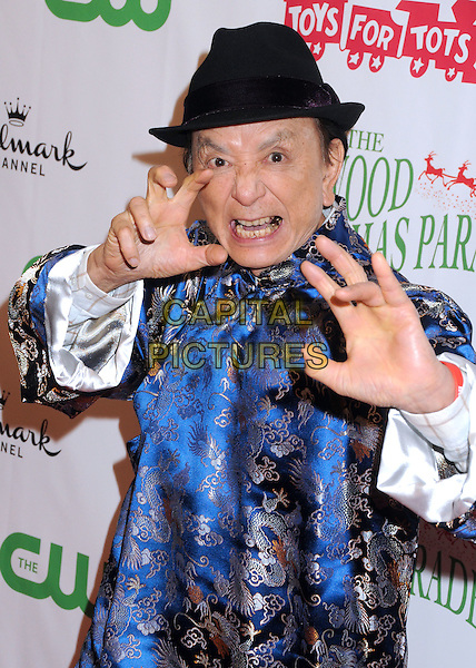 29 November 2015 - Hollywood, California - James Hong. 84th Annual Hollywood Christmas Parade held on Hollywood Blvd. <br /> CAP/ADM/BP<br /> &copy;BP/ADM/Capital Pictures