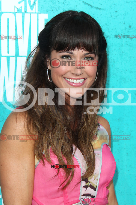Nikki Deloach at the 2012 MTV Movie Awards held at Gibson Amphitheatre on June 3, 2012 in Universal City, California. © mpi29/MediaPunch Inc.
