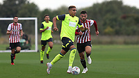 Abdel Sabiri of Huddersfield Town in action during Brentford B vs Huddersfield Town Under-23, Friendly Match Football at Brentford FC Training Ground, Jersey Road on 12th September 2018