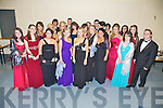 NIGHT ON THE TOWN: Students from Mean Scoil an Leith Triuigh, Castlegregory pictured together before heading off to the Abbeygate Hotel, Tralee for their Debs.