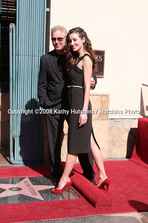William Petersen & wife Gina Cirone at  the Hollywood Walk of Fame Star Ceremony for WIlliam Petersen in front of Musso's & Franks Resturant in Los Angeles, CA on .February 3, 2009.©2008 Kathy Hutchins / Hutchins Photo..