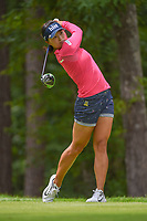 Jin Young Ko (KOR) watches her tee shot on 11 during round 2 of the U.S. Women's Open Championship, Shoal Creek Country Club, at Birmingham, Alabama, USA. 6/1/2018.<br /> Picture: Golffile | Ken Murray<br /> <br /> All photo usage must carry mandatory copyright credit (&copy; Golffile | Ken Murray)