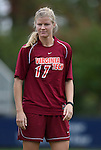25 October 2009: Virginia Tech's Robin Chidester. The Duke University Blue Devils defeated the Virginia Tech Hokies 4-1 at Koskinen Stadium in Durham, North Carolina in an NCAA Division I Women's college soccer game.