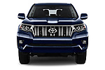 Car photography straight front view of a 2018 Toyota Landcruiser Premium 5 Door SUV