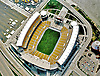 Aerial view of the newly built Heinz Field Home of the Pittsburgh Steelers in 2001.