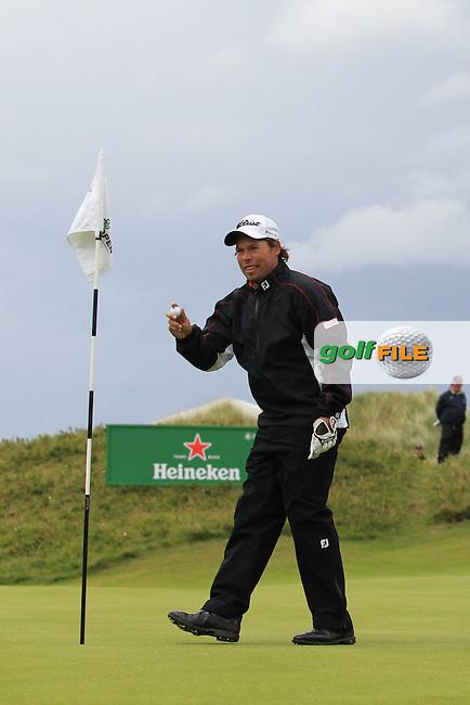 Mikael Lundberg (SWE) on the 16th on Day 3 of the 2012 Irish Open at Royal Portrush Golf Club, Portrush, Co.Antrim, 30/6/12...(Photo Jenny Matthews/www.golffile.ie)