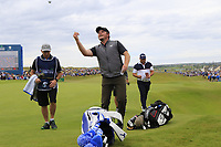 Eddie Pepperell (ENG) finishes on the 18th green during Sunday's Final Round of the Dubai Duty Free Irish Open 2019, held at Lahinch Golf Club, Lahinch, Ireland. 7th July 2019.<br /> Picture: Eoin Clarke | Golffile<br /> <br /> <br /> All photos usage must carry mandatory copyright credit (© Golffile | Eoin Clarke)