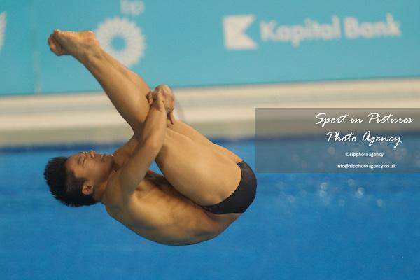 Cao-Tre Le Nguyen (GER). Men's 3m Springboard Final. Baku Aquatics Centre. Baku2015. 1st European Games. Baku. Azerbaijan. 20/06/2015. MANDATORY CREDIT Dan Chesterton/SIPPA - NO UNAUTHORISED USE - +447837 394578
