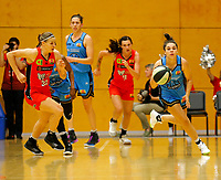 29th December 2019; Bendat Basketball Centre, Perth, Western Australia, Australia; Womens National Basketball League Australia, Perth Lynx versus Canberra Capitals; Abby Cubillo of the Canberra Capitals makes a fast break from defence - Editorial Use