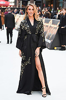 """LONDON, UK. September 12, 2018: Megan McKenna at the World Premiere of """"King of Thieves"""" at the Vue Cinema, Leicester Square, London.<br /> Picture: Steve Vas/Featureflash"""