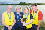 The Callinafercy crew who won the Veteran Masters Mixed title at the All Ireland Rowing Championships in Waterville l-r: Kevin Tangney, Margo Lawlor, Sheila hurley and John Joe Stack