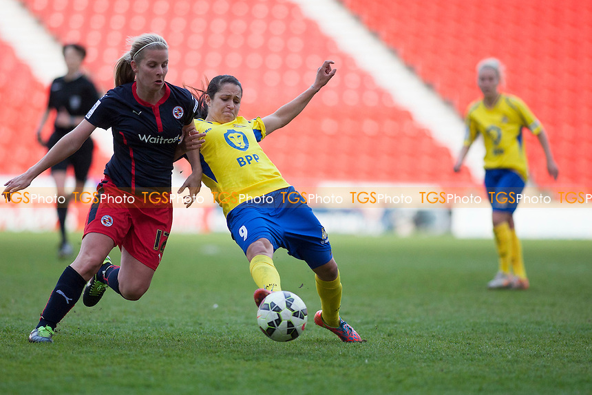 Courtney Sweetman-Kirk (Doncaster Belles)<br />   - Doncaster Rovers Belles vs Reading Women - FA Womens Super League 2 Football at the Keepmoat Stadium, Doncaster Rovers FC - 16/05/15 - MANDATORY CREDIT: Mark Hodsman/TGSPHOTO - Self billing applies where appropriate - contact@tgsphoto.co.uk - NO UNPAID USE