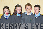 Daisy O'Connor, Danielle Garland, Ryan Coffey and Conor Delves Cullina NS Beaufort at the Credit Union quiz in the the Gleneagle Hotel Killarney on Sunday.
