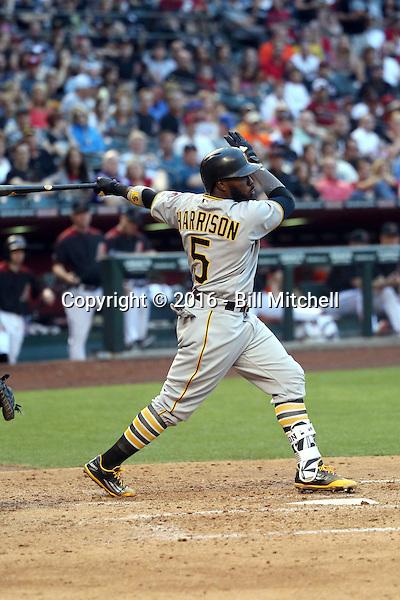 Josh Harrison - 2016 Pittsburgh Pirates (Bill Mitchell)