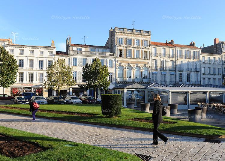 20081023 - France - Poitou-Charentes - Rochefort<br />La Place Colbert a Rochefort.<br />Ref : ROCHEFORT_031.jpg - &copy; Philippe Noisette.