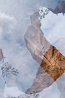 abstract multiple exposure at Zion National Park