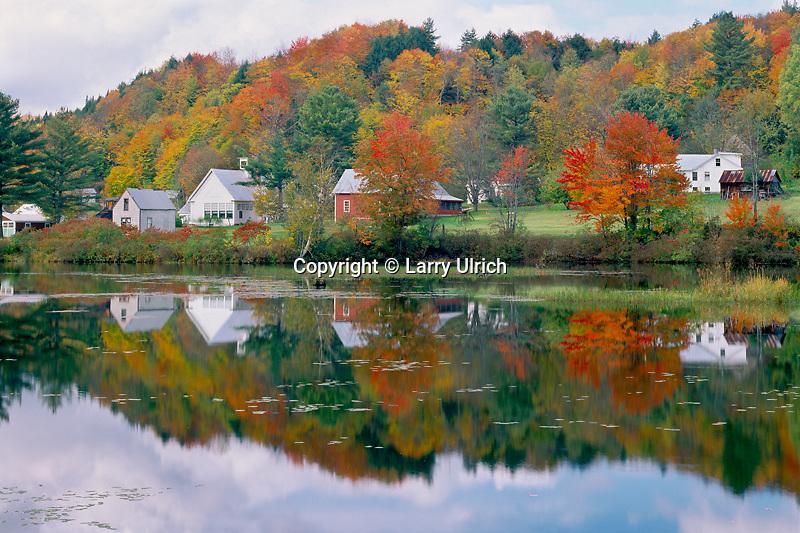 Pond,  Kingsbury Branch<br /> Winooski River<br /> East Calais<br /> Washington County,   Vermont