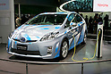 Toyota Prius Plug-In Hybrid Concept on display during the first press day for the 41th Tokyo Motor Show, 21 October 2009 in Tokyo (Japan). The TMS will be open for the public from 23 October 2007 to 4 November 2009.