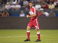 Chicago Fire forward Brian McBride (20). The Chicago Fire defeated the LA Galaxy 1-0 at Home Depot Center stadium in Carson, California on Thursday, August 21, 2008.