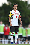 13 September 2013: Maryland's Tsubasa Endoh (JPN). The University of North Carolina Tar Heels hosted the University of Maryland Terrapins at Fetzer Field in Chapel Hill, NC in a 2013 NCAA Division I Men's Soccer match. The game ended in a 2-2 tie after two overtimes.