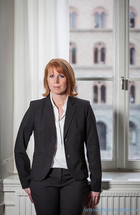 Pressbilder för Annie Lööf, Centerpartiet. Fotograf Johan Jeppsson