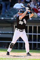 August 15 2008:  Second Baseman Chris Getz of the Chicago White Sox during a game at U.S. Cellular Field in Chicago, IL.  Photo by:  Mike Janes/Four Seam Images