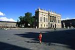 Palazzo Madama in piazza Castello. Castle square.