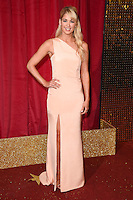 Amanda Clapham<br /> arrives for the British Soap Awards 2016 at Hackney Empire, London.<br /> <br /> <br /> &copy;Ash Knotek  D3124  28/05/2016