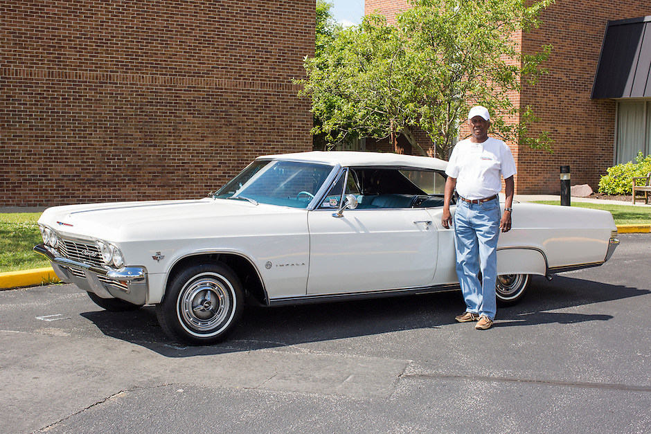 1965 Cruiser Class (#34C) – 1965 Chevrolet Impala Super Sport 2-Door Hardtop registered to Dickie Posley is pictured during 4th State Representative Chevy Show on Friday, July 1, 2016, in Fort Wayne, Indiana. (Photo by James Brosher)