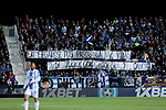CD Leganes's fans during La Liga match between CD Leganes and Real Madrid at Butarque Stadium in Leganes, Spain. April 15, 2019. (ALTERPHOTOS/A. Perez Meca)