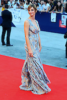 Francesca Inaudi attends the red carpet for the movie 'Black Mass' during 72nd Venice Film Festival at the Palazzo Del Cinema in Venice, Italy, September 4, 2015. <br /> UPDATE IMAGES PRESS/Stephen Richie