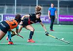AMSTELVEEN  -Sosha Benninga (A'dam) .   Hoofdklasse hockey dames ,competitie, dames, Amsterdam-Groningen (9-0) .     COPYRIGHT KOEN SUYK