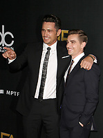 BEVERLY HILLS, CA - NOVEMBER 5: James Franco, Dave Franco, at The 21st Annual Hollywood Film Awards at the The Beverly Hilton Hotel in Beverly Hills, California on November 5, 2017. Credit: Faye Sadou/MediaPunch