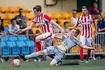 Wellington Phoenix vs Stoke City during the Main of the HKFC Citi Soccer Sevens on 21 May 2016 in the Hong Kong Footbal Club, Hong Kong, China. Photo by Lim Weixiang / Power Sport Images